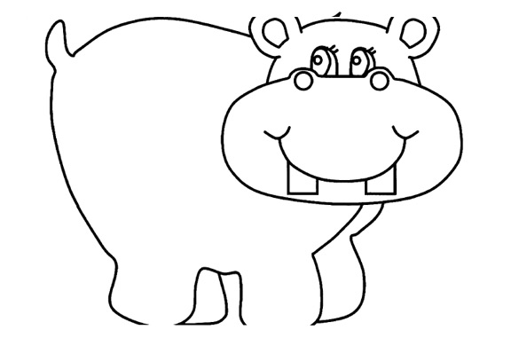 Hippo Drawing!
