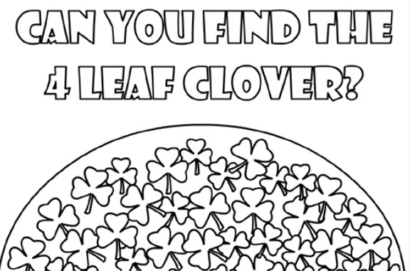Find the 4 Leave Clover