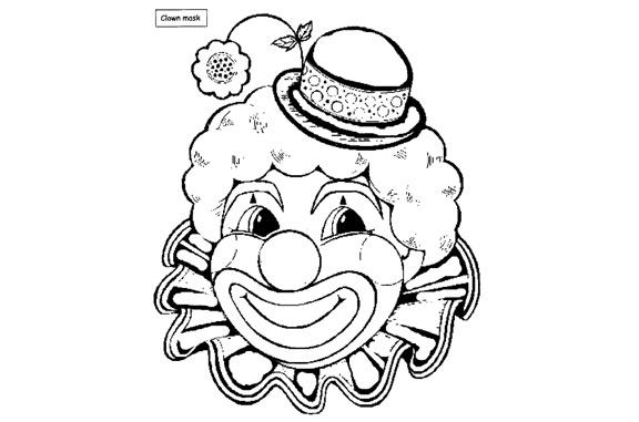 Clown Drawing!