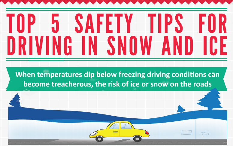 Top 5 Safety Tips for Driving in Snow and Ice
